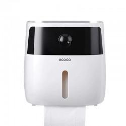 Держатель ECOCO E1804 Black + White для туалетной бумаги и салфеток