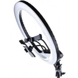 Кольцевая светодиодная LED лампа Ring Light RL-14 Набор блогера визажиста для фото и видео Селфи кольцо 36 см