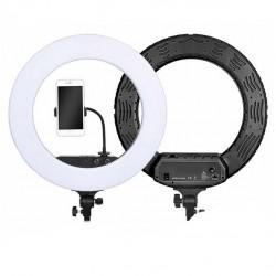"Кольцевая светодиодная Led Лампа RGB MJ33 USB 33cm Ring Light 13""/7617 зажимом для телефона"