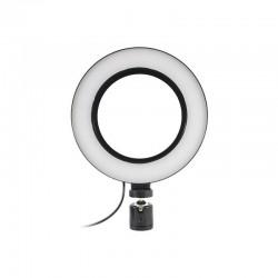 Кольцевая лампа Lesko L-16-8 LED для селфи фото и видеосъемки блогеров
