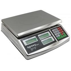 Торговые весы Rainberg RB-305 до 50 кг в металлическом корпусе