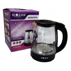 Чайник электрический стеклянный 2 л., 2000 Вт Haeger HG-7840