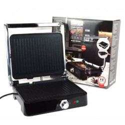 Электрический прижимной гриль DSP KB1049 с регулировкой температуры 1800 Вт черный цвет