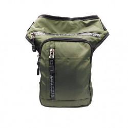 Мужская сумка плащевая Jingpinbag 78010 (29х15х3)