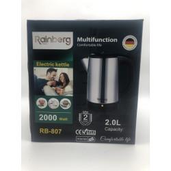 Чайник 2л RAINBERG RB-807 2000 Вт электрический чайник