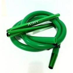 Трубка для кальяна силиконовая Amy Зеленая