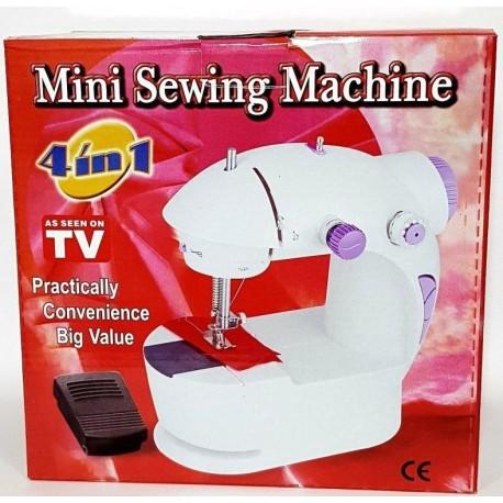 Портативная мини швейная машинка Mini Sewing Machine 4в1