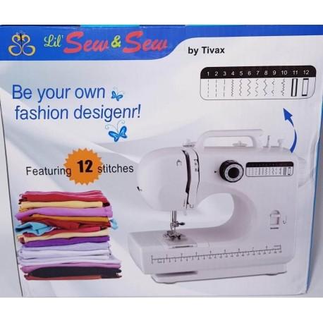 Швейная машинка 12 в 1