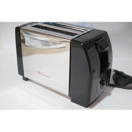 Тостер Domotec DT-1304 кухонная техника металлический корпус