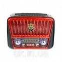 РадиоприемникGolon RX-456 Solar c Фонариком иСолнечной ПанельюMP3 USB FM SD