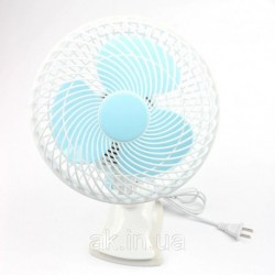 Настольный вентилятор Table Fan WX-707 25 Ват с прищепкой Wimpex мини вентилятор вентилятор прищепка