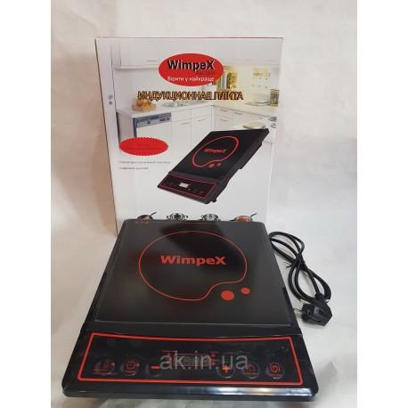 Индукционная плита настольная, электроплита WIMPEX WX1321 с таймером (2000W)