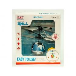 Увеличить F125 Игрушка №РС-888 прозр. летающ. шар сенсор. LED подсвет. USB зарядка с пультом (23*16*4,5)см (120)