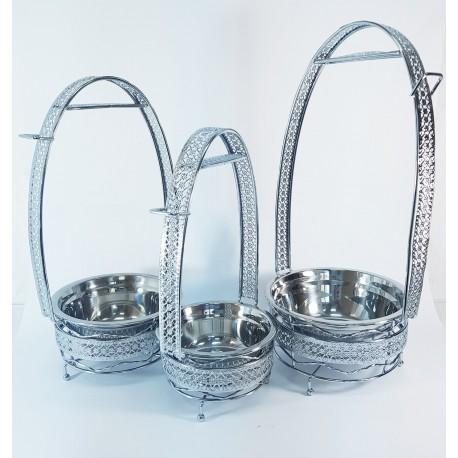 Удобный мангал - корзинка для переноски углей кальяна №2 3шт