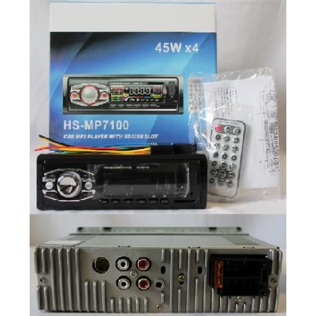 Car Mp3 7100