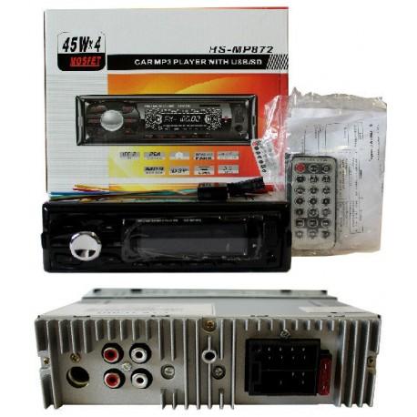Car Mp3 872 P detachable