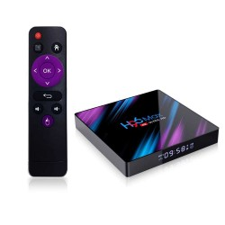 ТВ бокс приставка TV BOX H96 MAX (RK3318 4+32 Android 9.0)