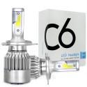 Автомобильные светодиодные Лед LED лампы C6 H7