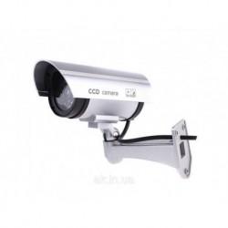 Видеокамера муляж PT 1100, Видеонаблюдение, Видеокамера обманка DUMMY IR CAMERA PT 1100