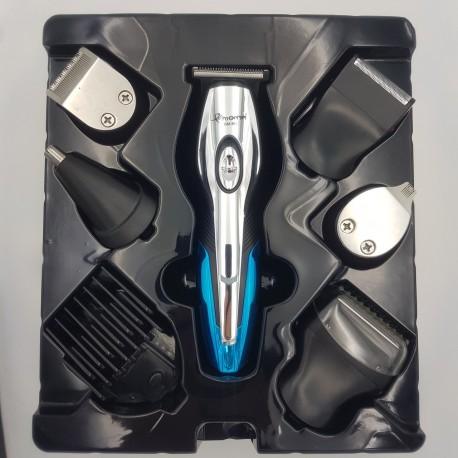 Аккумуляторная машинка для стрижки волос ноc усы борода бритва триммер 11 в 1 Gemei GM-562