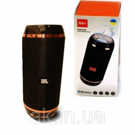Колонка с Bluetooth R4+ TF USB BLUETOOTH FM Aux