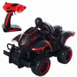 Квадроцикл на р/у, 2,4G, аккумуляторный, 21см, резиновые колеса, USB зарядка, свет, 2 цвета, в коробке, 37-22-15,5см, 3005
