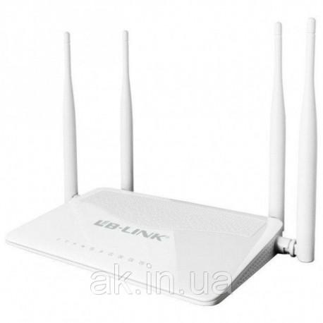 WiFi роутер LB-Link BL-WR450H 2.4GHz 300 Mbps Режим 5в1. 5dBi*4 высокочувствительных антенн. Высокий уровень