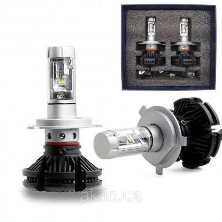 Светодиодные лампы X3 H4 LED LUXEON ZES