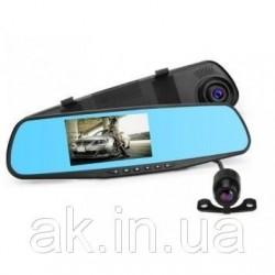 DVR Видеорегистратор зеркало АК 47 на две камеры