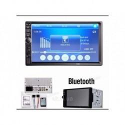 Магнитола USB+Bluetooth 2DIN 7018B LONG TFT сенсорный экран