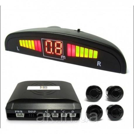 Парктроник Parking Sensor PS-201 LED дисплей