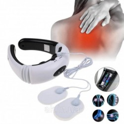 Электростимулятор массажер для шеи Cervical vertebra Neck Massager KL-5830