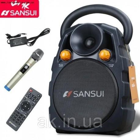 Колонка с микрофоном SS3-06 аккумуляторная акустика Sansui