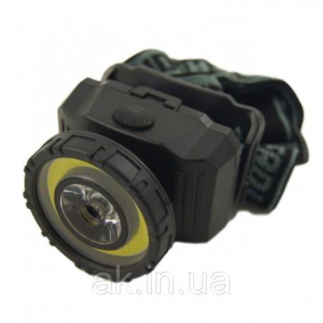 Налобный светодиодный фонарь NF-T838 COB 3W+1W