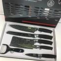 BASS Набор ножей (силик.ручка), 6 предметов