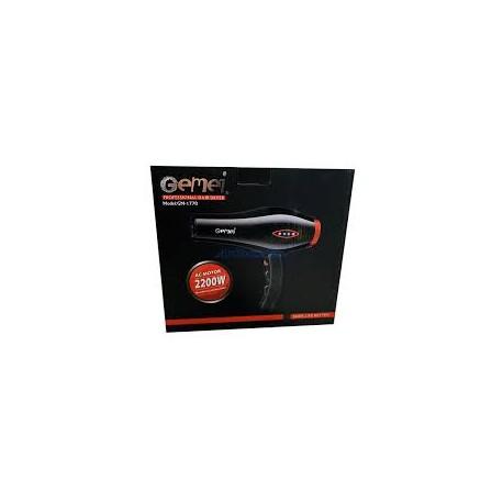 Фен профессиональный для сушки волос Gemei GM-1770 2200W
