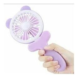 Вентилятор детский портативный Mini Fan на аккумуляторе с ушками