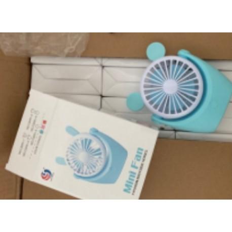 Вентилятор син с ушками