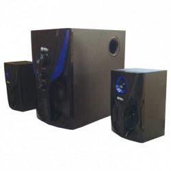 Музыкальные колонки 2.1. Домашний музыкальный центр 25Вт. USB/SD/AUX/Bluetooth/FM-радио (4809)