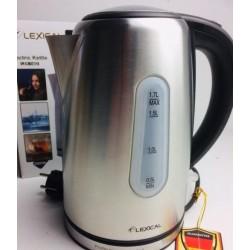 Электрочайник Lexical LEK-1402 2200 Вт нагреватель дисковый и световым индикатором Серебристый
