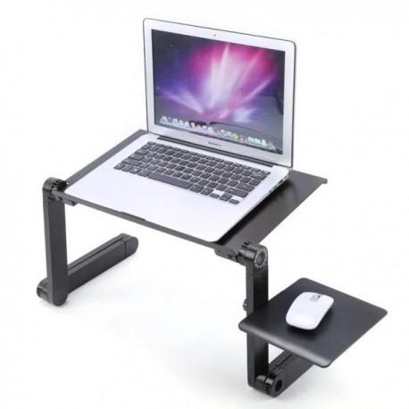 Многофункциональный Столик трансформер для ноутбука Laptop Table T9, активное охлаждение