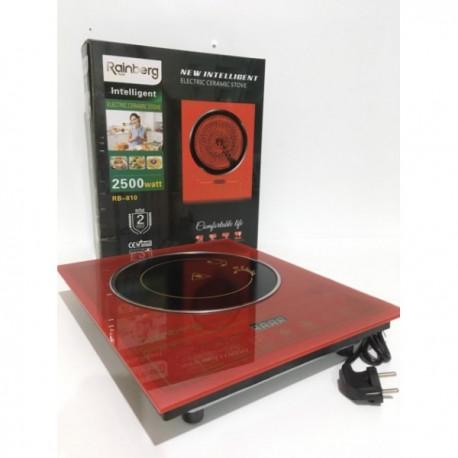 Индукционная электрическая плита 2500Вт Rainberg RB-810 Красная