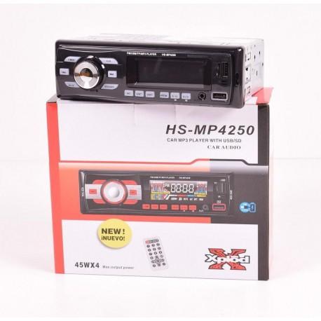 АВТОМАГНИТОЛА (ФЛЕШКА+РАДИО) АРТ.HS-MP4250