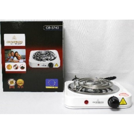 Электрическая плита одноконфорочная спиральная плита CB-3740 электроплита 1200 W