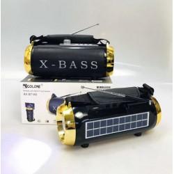 Портативная колонка RX BT180S Портативная колонка RX BT180S с фонарем и солнечной панелью