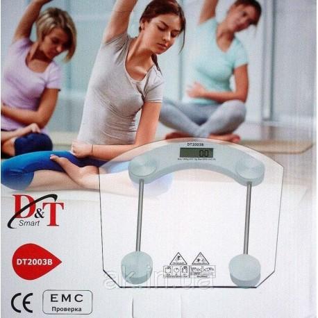 Весы напольные D&t, Smart, dt2003b до 180 кг (шаг 0,1 кг)
