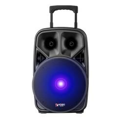 Колонка-чемодан QS-1201 беспроводной микрофон