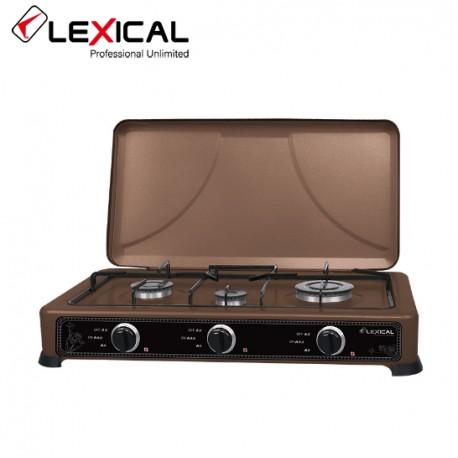 Газовая плита таганок Lexical LGS-2813-5 настольная на 2 конфорк