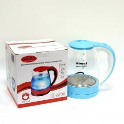 Электрический чайник WIMPEX WX 2850 цвет голубой