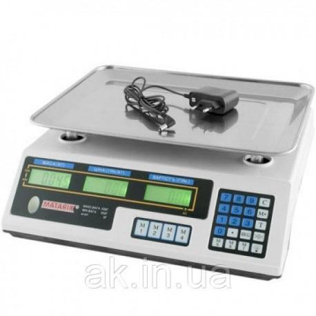 Весы торговые MATARIX MX-410A 50кг